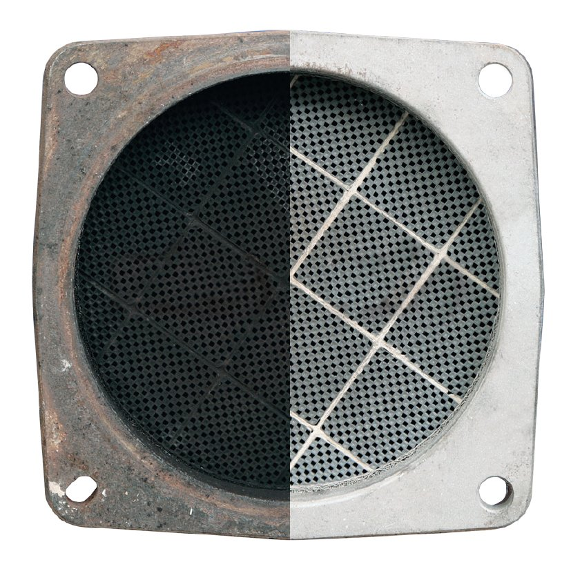 before and after DPF