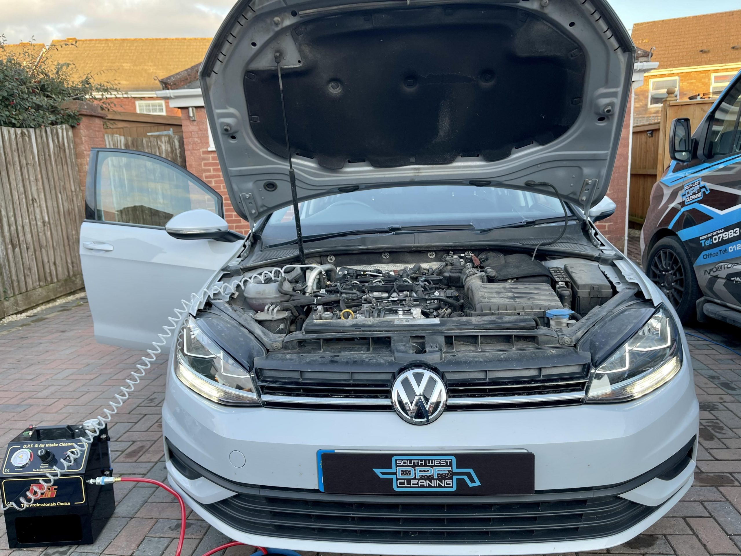 Cleaning DPF on VW