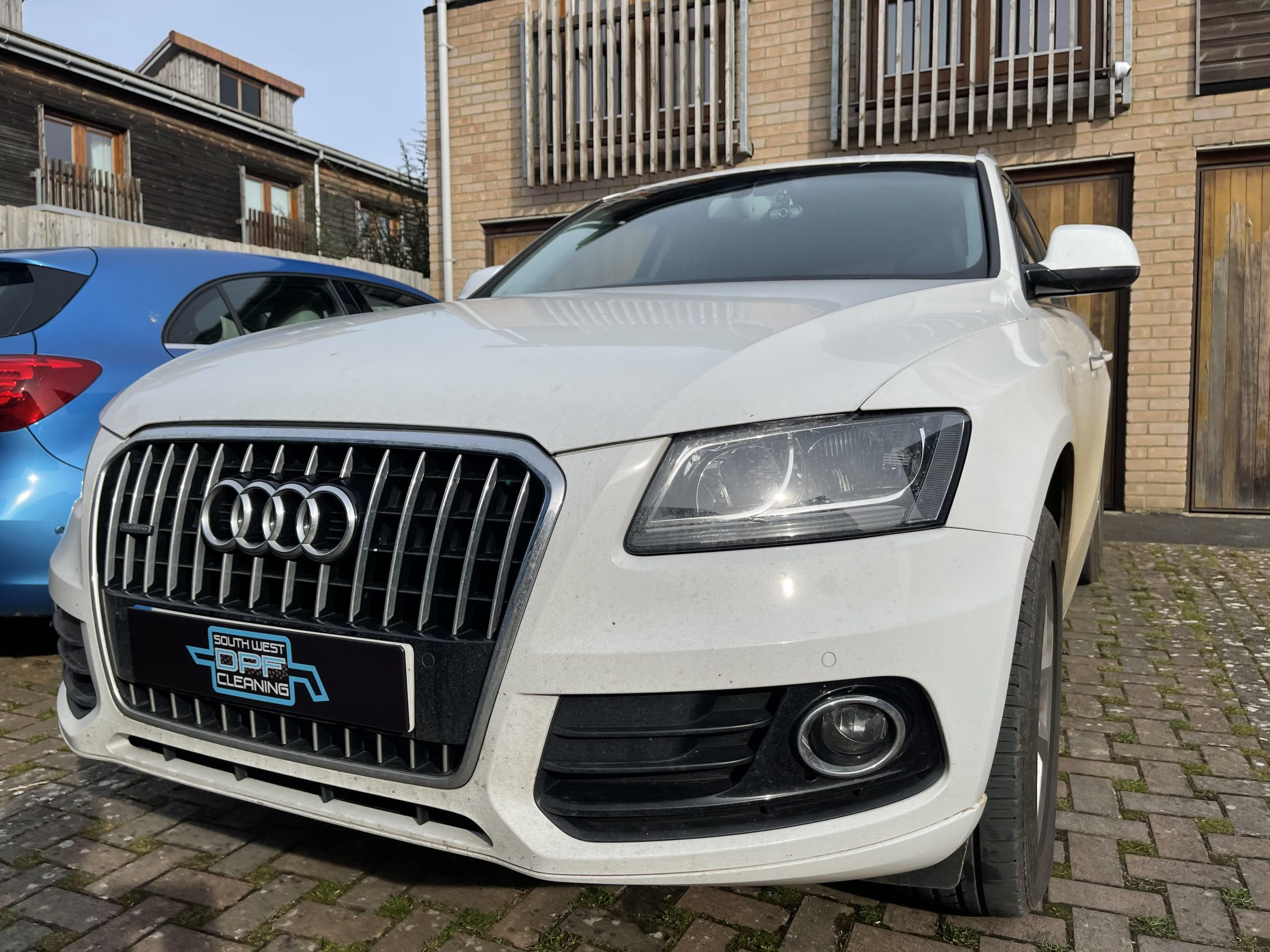 Audi having DPF cleaned
